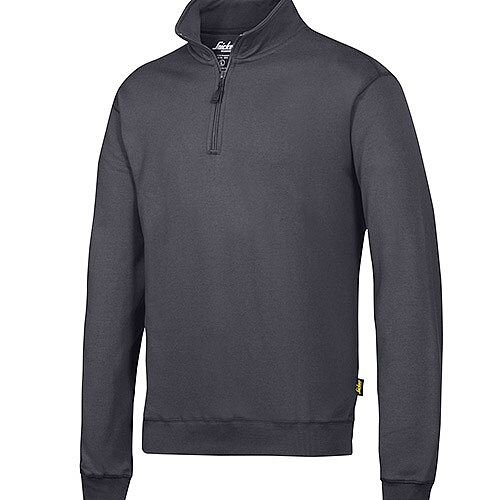 Snickers 2818 ½ Zip Sweatshirt Steel Grey