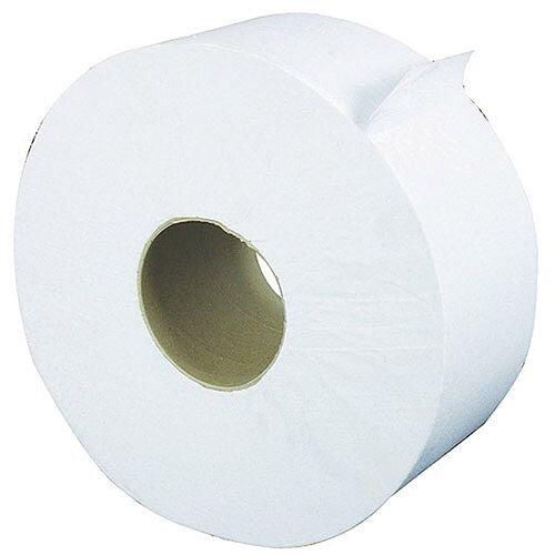 Kleenex Ultra Jumbo Toilet Paper Toilet Tissue Rolls 250m Dispenser Tissue Refills 2-Ply Pack 6