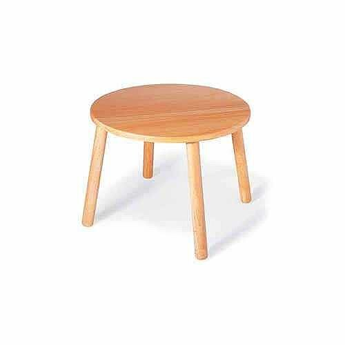 Round Preschool Table 600mm Dia 435mm High