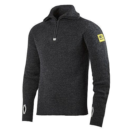 Snickers 2905 ½-Zip Wool Sweater Size XXL  Anthracite Melange