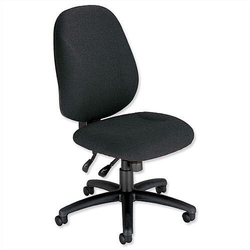 Trexus Intro Maxi Asynchronous High Back Office Chair Charcoal