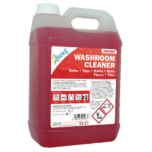2Work Washroom Cleaner 5 Litre 2W03981
