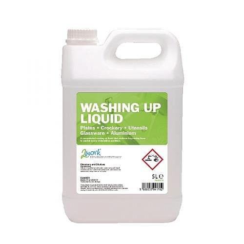 2Work Washing Up Liquid 5 Litre 2W04170