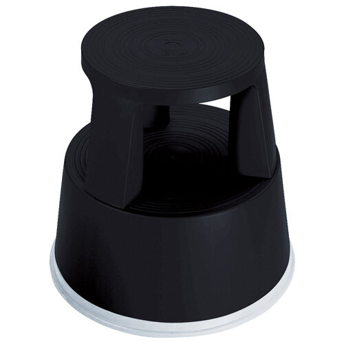 2Work Plastic Step Stool Black T7/Black