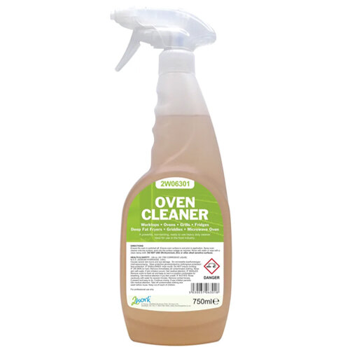 2Work Oven Spray Cleaner 750ml (Pack of 1) 420 SVW