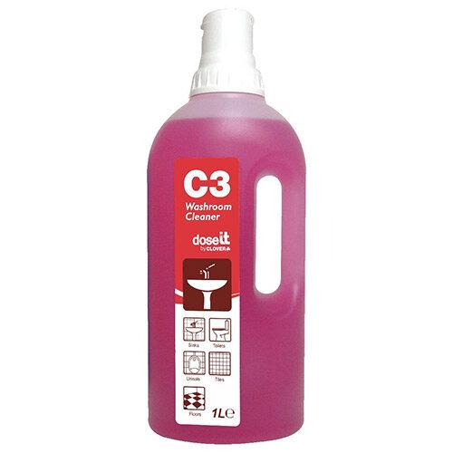 Dose It C3 Washroom Cleaner 1L Pack of 8