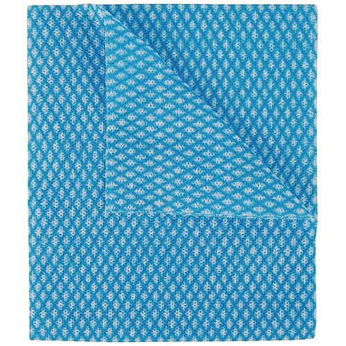 2Work Economy Cloths Blue 42X35CM Pack of 50 CCBC42BDI