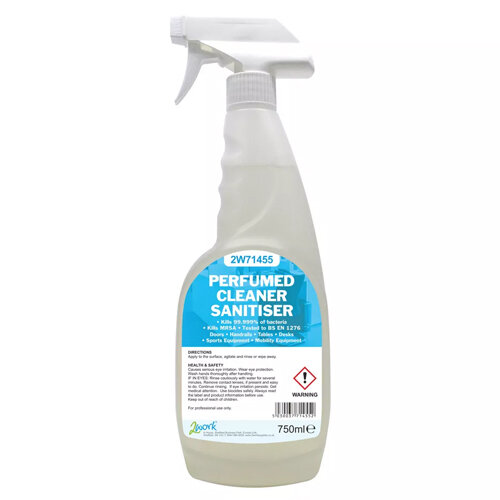 2Work Perfumed Cleaner Sanitiser Disinfectant 750ml (Pack of 1) 211SVW