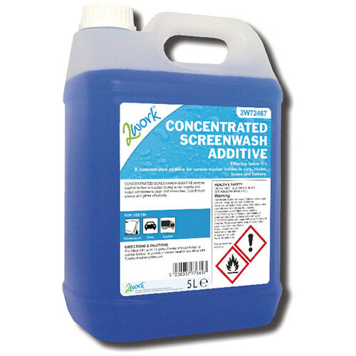 2Work Screen Wash Additive 5 Litre