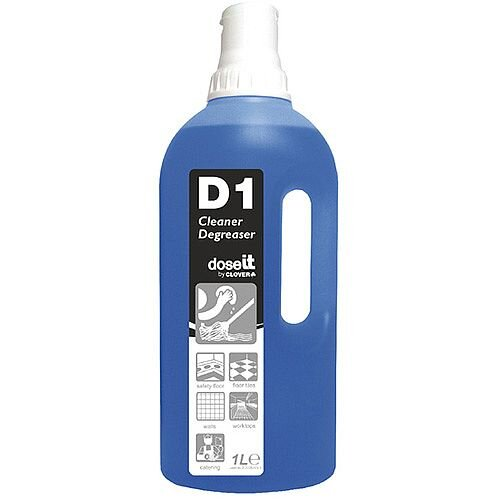 Dose It D1 Cleaner and Degreaser 1 Litre Pack 8
