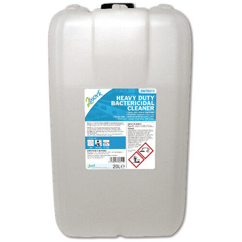 2Work Heavy Duty Bactericidal Cleaner Used in Kitchens 20 Litre 319