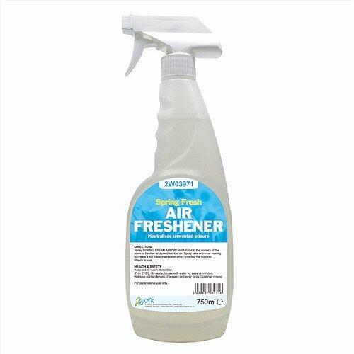 2Work Air Freshener Non Aerosol Light Fragrant Scent Trigger Spray 750ml (Pack 1) 812