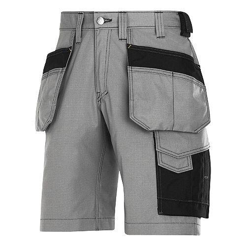 "Snickers Craftsmen Holster Pocket Shorts Grey Waist 31"" Inside leg 31"" WW1"