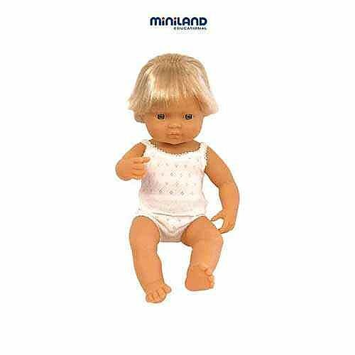 Male European Anatomical Doll