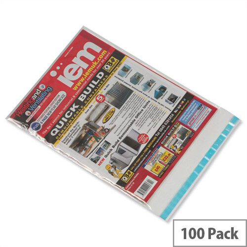 GoSecure C4 Lightweight Polythene Envelopes Pack of 100