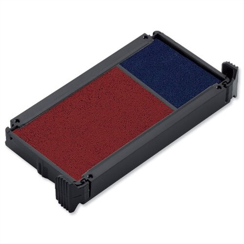 Trodat Red Blue Replacement Ink Pad 649122 Ref 83541 Pack 2