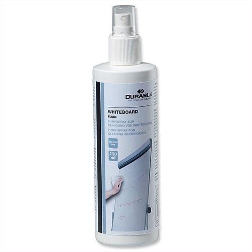 Durable Drywipe Board Cleaning Fluid Spray 250ml Bottle 575719