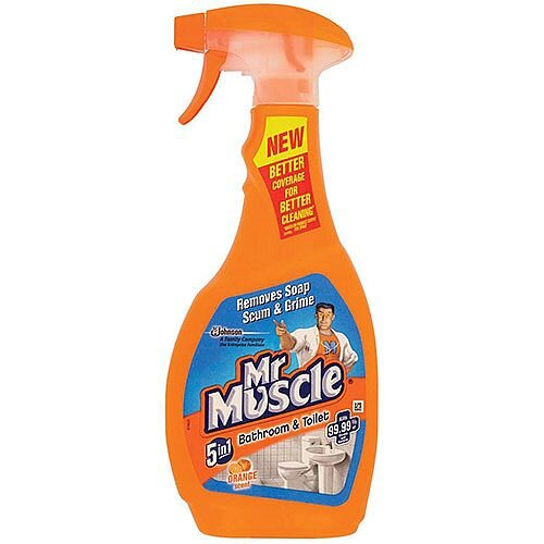Mr Muscle Bathroom Cleaner Disinfectant Spray Bottle 500ml
