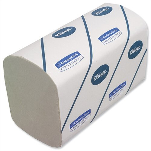 Kimberly Clark Kleenex Ultra 3 Ply White Paper Hand Towels 96 Towels Per Sleeve 30 Sleeves (2880 Sheets) 6771