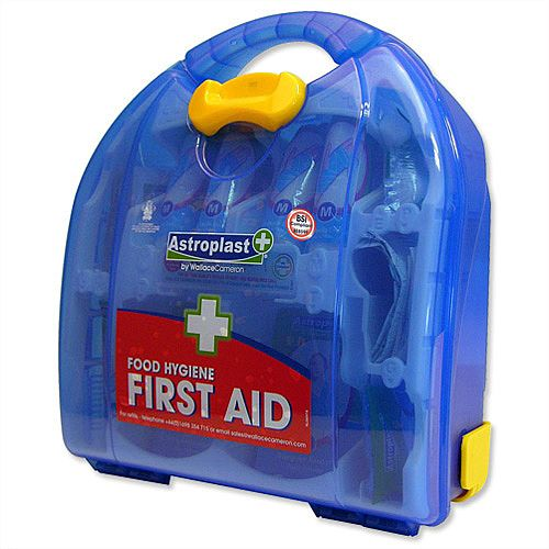 Wallace Cameron BS8599-1 Small First Aid Kit Food Hygiene Up to 10 Person