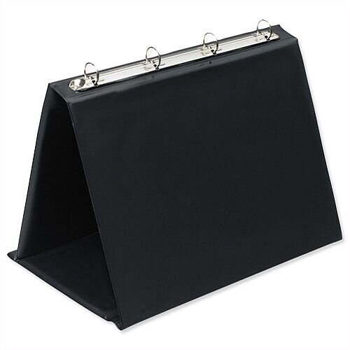 Bantex Easel Presenter A4 Landscape Black