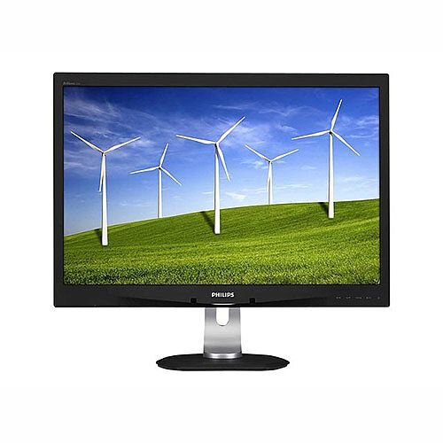 "Philips Brilliance B-line 240B4QPYEB LED Computer Monitor 24"" 1920x1200 at 60Hz"