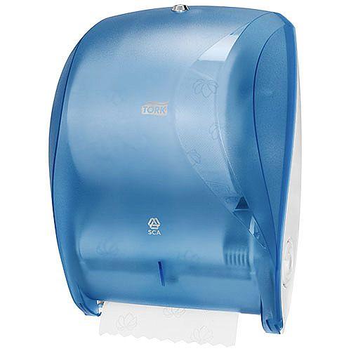 Towel Soap Dispenser ~ Tork manual hand towel roll dispenser blue ref