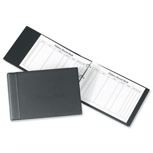 Visitors Book Binder with 50 Sheets 2000 Entries 230 x 335mm Concord CD14