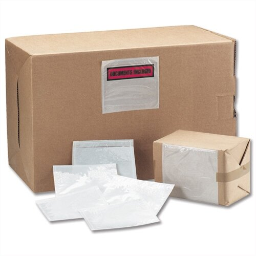 Tenzalope Document Enclosed Envelopes A5 Polythene A52 Pack 1000