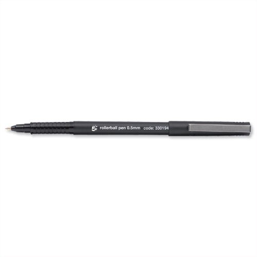 Rollerball Fine Pen Black Pack 12 5 Star