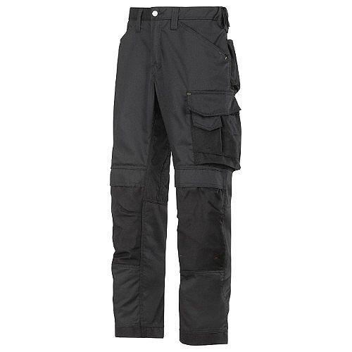 """Snickers CoolTwill Trousers Black Waist 38"""" Inside leg 30"""" WW1"""