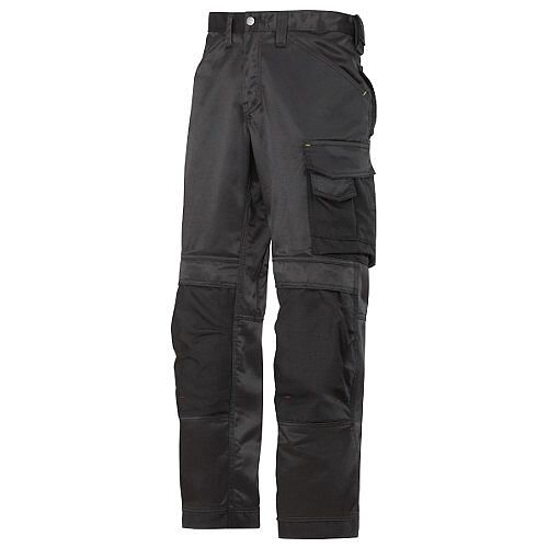 "Snickers DuraTwill Trousers Black Waist 33"" Inside leg 28"" WW1"