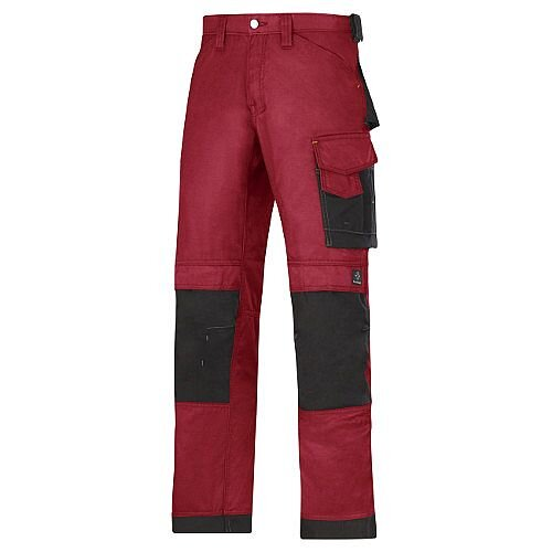"Snickers DuraTwill Trousers Chili Waist 35"" Inside leg 30"" WW1"
