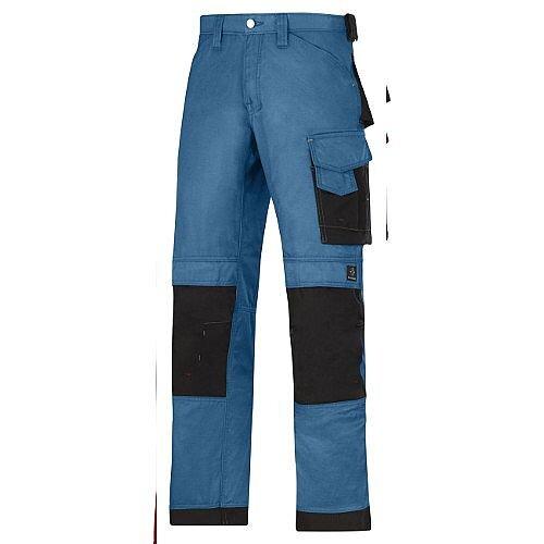 """Snickers DuraTwill Trousers Ocean Waist 35"""" Inside leg 35"""" WW1"""