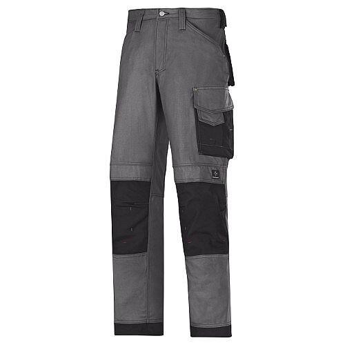 """Snickers Canvas Plus Trousers Steel Grey Waist 38"""" Inside leg 37"""" WW1"""