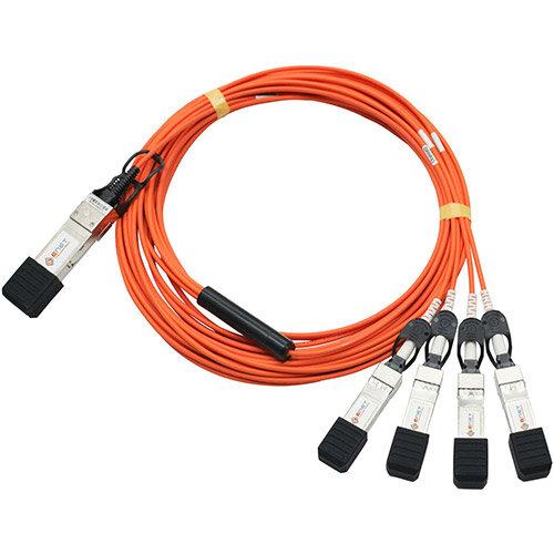 Cisco - Network cable - QSFP (M) to SFP+ (M) - 5 m - SFF-8431/SFF-8436/SFF-8461 - active - grey - for Nexus 31XX, 56128, 93XX, 93XXX, X97160, X9736; ONE Nexus 31108, 32XX, 56XX, 92XX, 93XXX