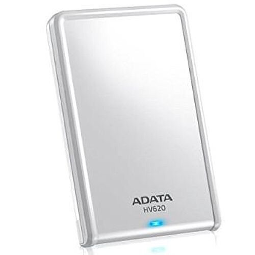 ADATA DashDrive HV620 Hard Drive 1TB, Extermal HDD, 2.5, USB 3.0 , White