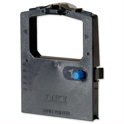 OKI 09002309 Printer Ribbon Cassette Black for 300 Series-24 PIN-380-385 6-390 1-3390