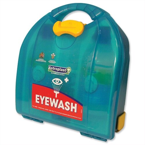 Wallace Cameron Eyewash Dispenser Mezzo Unit Recommended by HSE Up to 10 Person