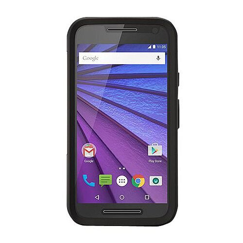 size 40 fdf0f ea27c OtterBox Commuter Back Cover For For Motorola Moto G 3Rd Gen Black