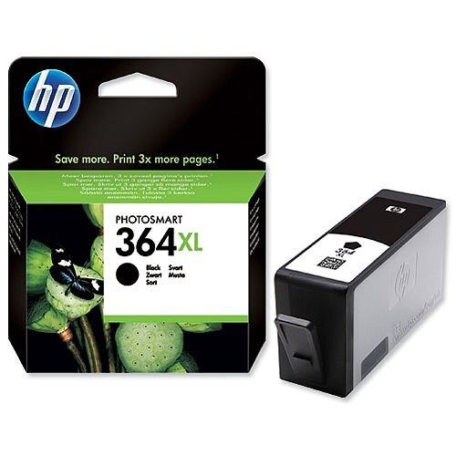 HP 364XL Black Inkjet Cartridge CN684EE