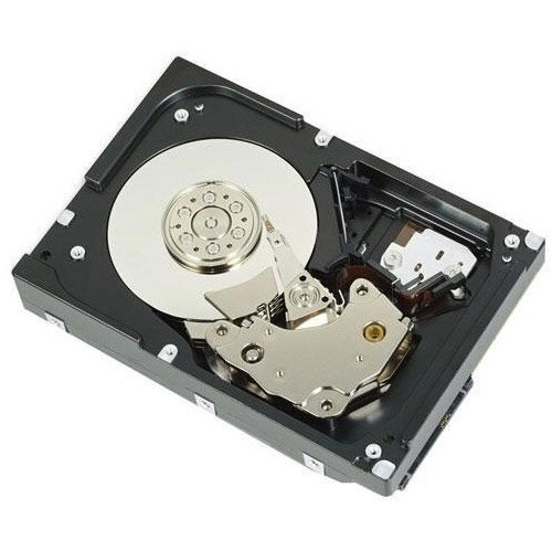 """Dell - Hard drive - 1.8 TB - hot-swap - 2.5"""" (in 3.5"""" carrier) - SAS 12Gb/s - 10000 rpm - for PowerEdge R330, R430, R530, R630, R730, R730xd, T330 (3.5""""), T430 (3.5""""), T630 (3.5"""")"""