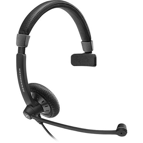 Sennheiser SC 40 USB MS - Headset - On-ear Mono PC Headset - For Computer and Communication ; Noise Cancelling Feature ; Black