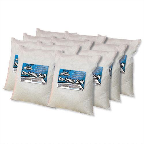 White De-icing Salt Bags 25kg (Pack of 40) Ref 40 SALT1