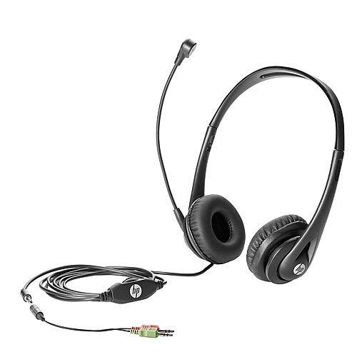 HP Business Headset v2 - Headset - full size - wired - for HP 290 G1; EliteDesk 705 G3, 800 G2; EliteOne 1000 G1; ProDesk 600 G2; ProOne 600 G2