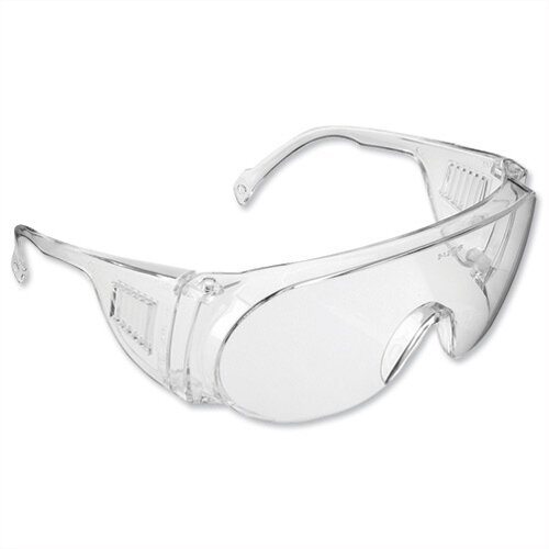JSP Safety Glasses Visi Spectacles Polycarbonate Clear Lens
