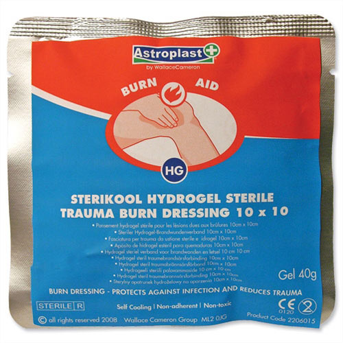 Wallace Cameron Burns Dressing Pack of 10