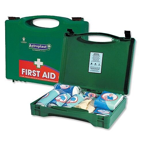 First Aid Kit Green Box HS2 Traditional 20 Person