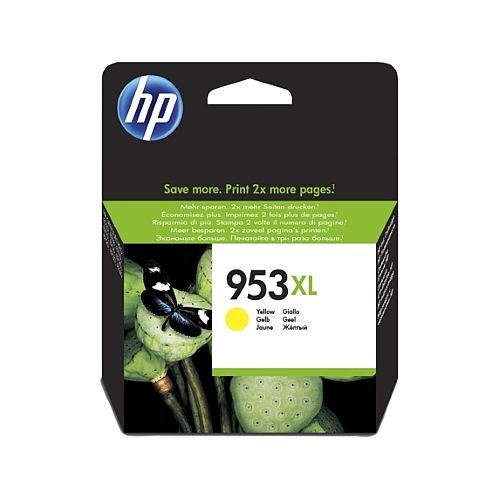 HP 953XL Yellow High Capacity Ink Cartridge F6U18AE