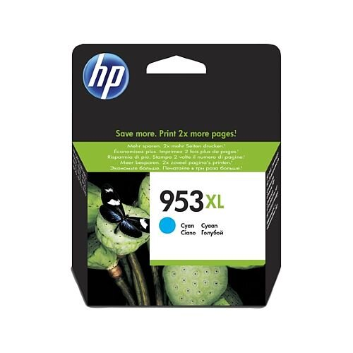HP 953XL (F6U16AE) Cyan High Capacity Ink Cartridge
